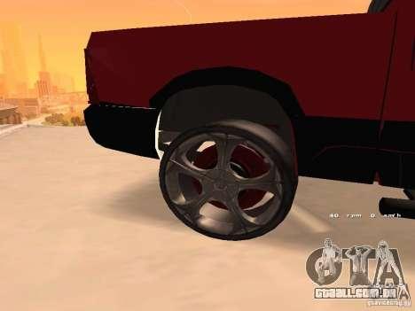 Dodge Ram 2010 para GTA San Andreas vista direita