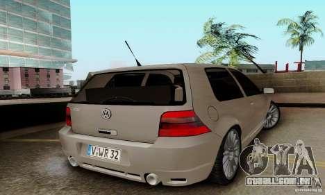 Volkswagen Golf GTI R32 para GTA San Andreas esquerda vista
