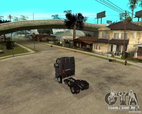 Man TGA para GTA San Andreas esquerda vista