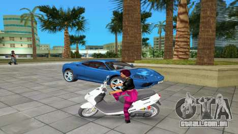 Suzuki Address 110 Custom Ver.1.3 para GTA Vice City