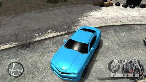Chevrolet Camaro SS para GTA 4 traseira esquerda vista