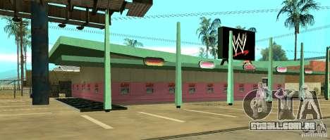 Nova loja da WWE para GTA San Andreas segunda tela