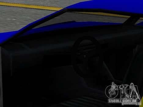 Infernus v 1.2 para GTA San Andreas vista superior