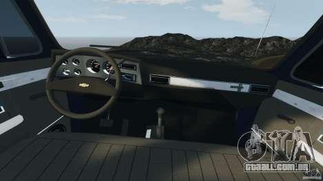 Chevrolet Silverado 1986 para GTA 4 vista de volta