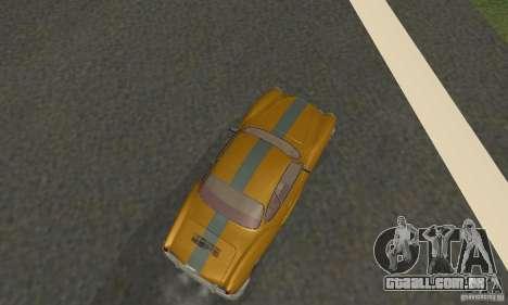 Volkswagen Karmann Ghia para GTA San Andreas esquerda vista