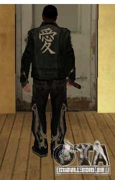 Substituição peles Yakuza para GTA San Andreas segunda tela