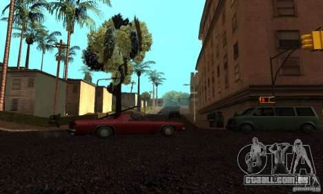 Grove Street para GTA San Andreas sexta tela
