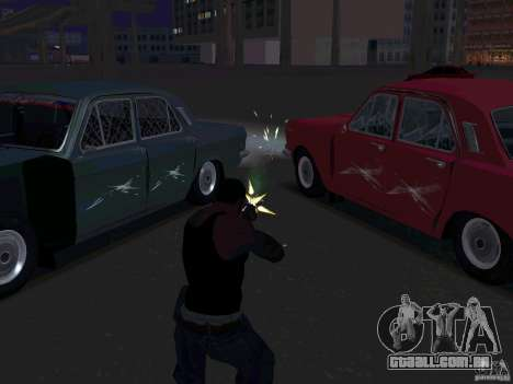 GÁS 24 CR v2 para GTA San Andreas vista interior