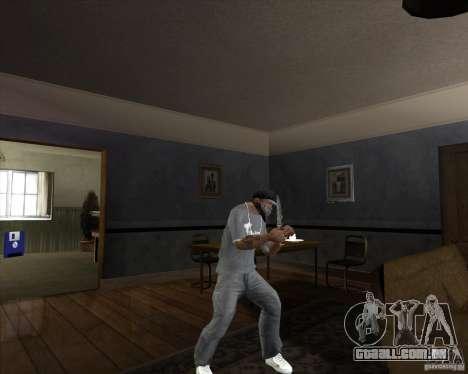 Lâmina de caça para GTA San Andreas terceira tela