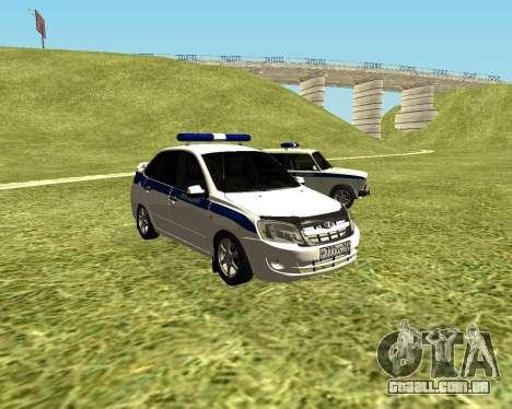 Polícia de 2190 VAZ para GTA San Andreas