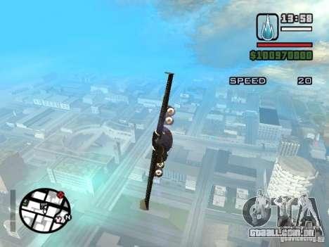 Jetwing Mod para GTA San Andreas segunda tela