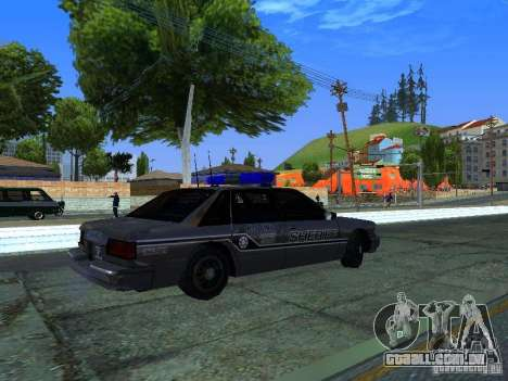 Lumpkin Country Sheriffs Office para GTA San Andreas vista direita