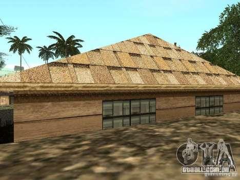 CJ em casa nova para GTA San Andreas terceira tela