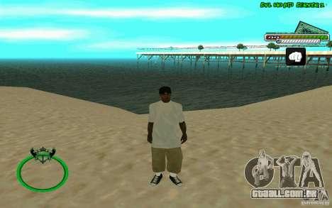 Nigga HD skin para GTA San Andreas terceira tela
