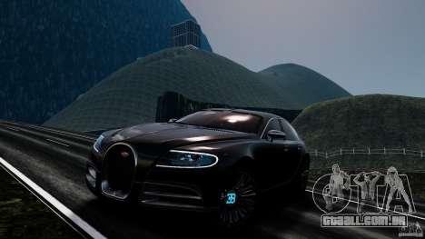 Bugatti Galibier 2009 para GTA 4 rodas