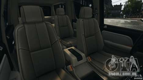 Chevrolet Suburban GMT900 2008 v1.0 para GTA 4 vista lateral
