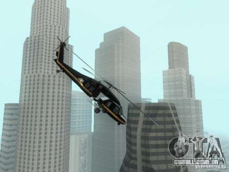 GTA 4 Aniquilador entrável para GTA San Andreas esquerda vista
