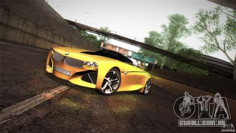 BMW Vision Connected Drive Concept para GTA San Andreas esquerda vista