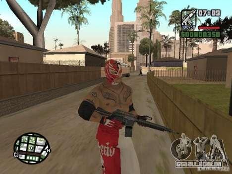 Rey Mysterio para GTA San Andreas quinto tela
