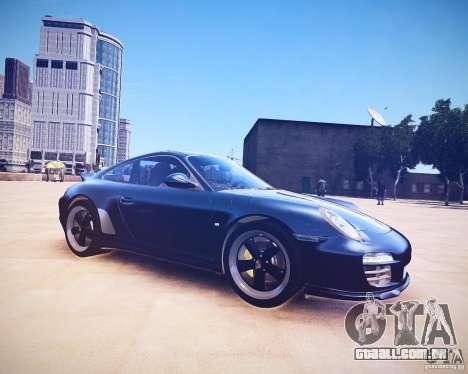 Porsche 911 Sport Classic 2011 v2.0 para GTA 4 traseira esquerda vista