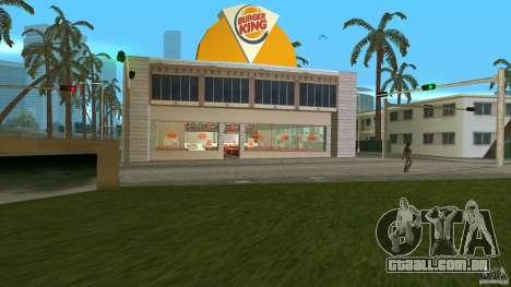 Burgerking-MOD para GTA Vice City