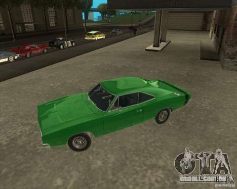 Dodge Charger para GTA San Andreas esquerda vista