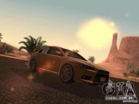 Mitsubishi  Lancer Evo X BMS Edition para GTA San Andreas