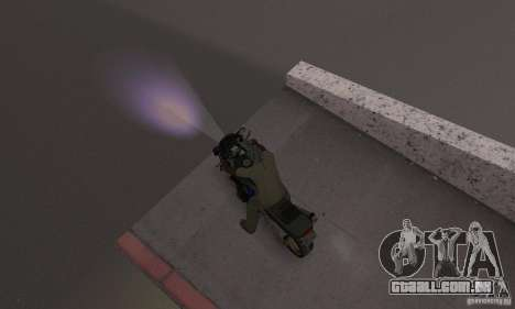 Luzes roxas para GTA San Andreas