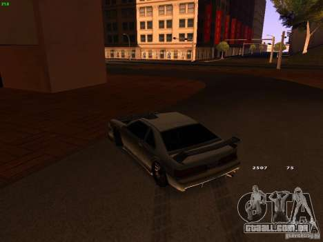 New Racing Style Fortune para GTA San Andreas vista traseira