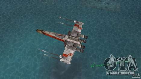 X-Wing Skimmer para GTA Vice City vista direita
