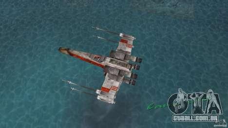 X-Wing Skimmer para GTA Vice City vista direita