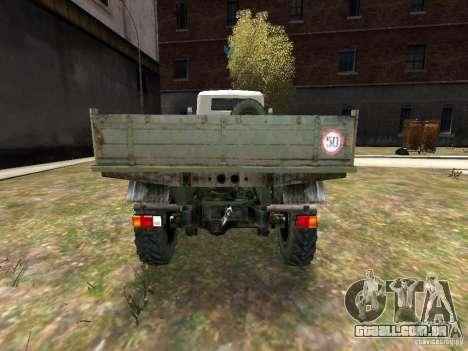 ZIL 131 para GTA 4 vista direita