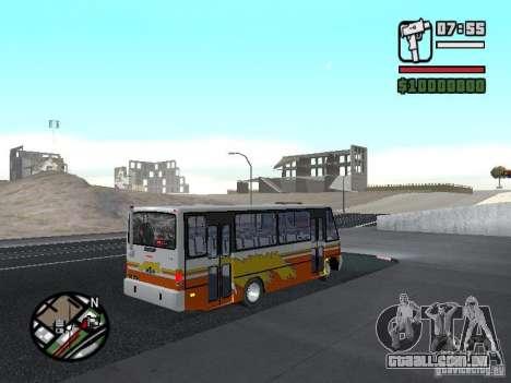 Ciferal Agilis M.Benz LO-814 BY GTABUSCL para GTA San Andreas vista direita