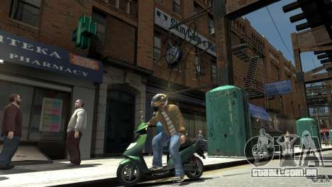 Energy Drink Helmets para GTA 4 terceira tela