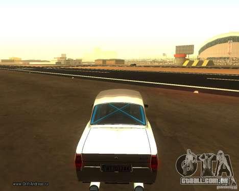 Gaz Volga 2410 Drift Edition para GTA San Andreas esquerda vista