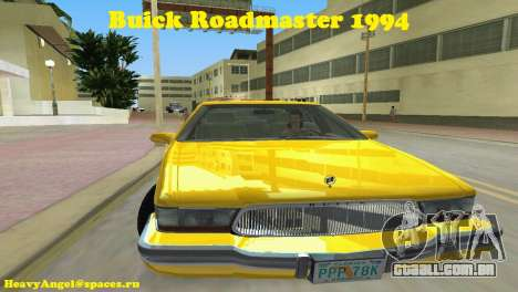 Buick Roadmaster 1994 para GTA Vice City