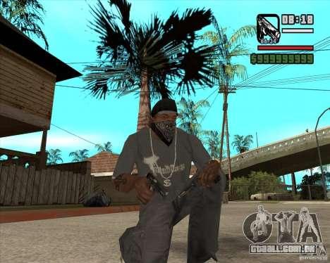 Armas de Pak de Fallout New Vegas para GTA San Andreas terceira tela