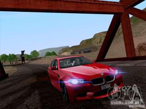 Realistic Graphics HD 4.0 para GTA San Andreas por diante tela