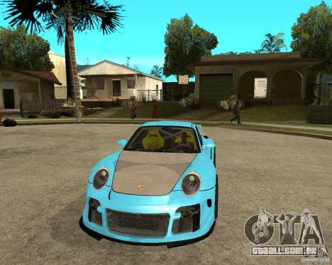 Porsche 911 Turbo Grip Tuning para GTA San Andreas vista traseira