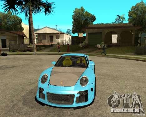 Porsche 911 Turbo Grip Tuning para GTA San Andreas vista traseira