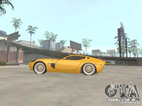 Ford Shelby GR1 para GTA San Andreas esquerda vista