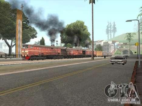 3TÈ10M-1199 para GTA San Andreas traseira esquerda vista