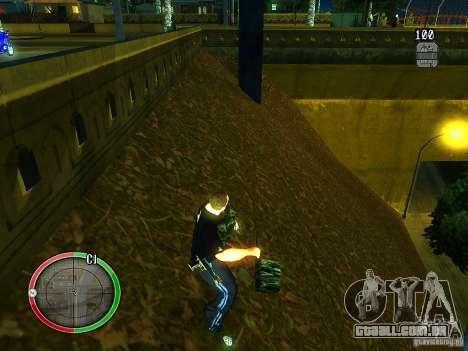 O novo explosivo para GTA San Andreas por diante tela
