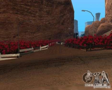 Modern Bone Country para GTA San Andreas oitavo tela