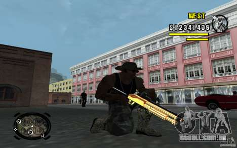 Gold Weapon Pack v 2.1 para GTA San Andreas segunda tela