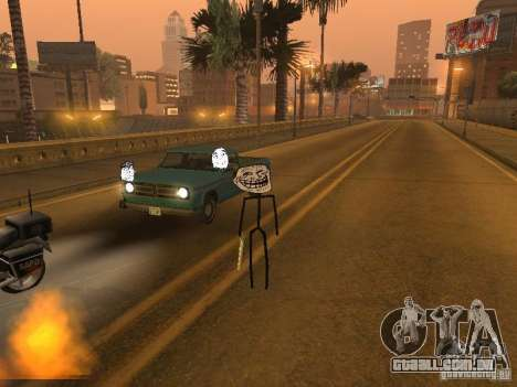 Meme Ivasion Mod para GTA San Andreas nono tela