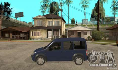 Ford Transit Connect 2007 para GTA San Andreas esquerda vista
