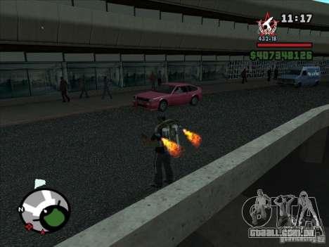 Um novo aeroporto em San Fierro para GTA San Andreas sexta tela