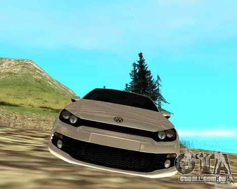 VW Scirocco III Custom Edition para GTA San Andreas vista direita