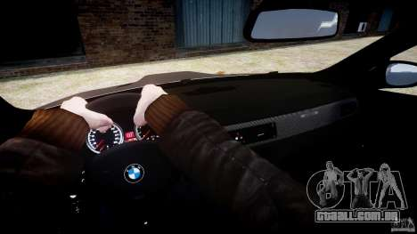 BMW M3 GT-S V.1.0 para GTA 4 vista lateral
